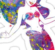 The Little Mermaid Ariel Watercolor Sticker