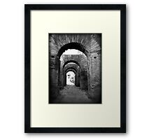Arches Palatine Hill - Rome, Italy Framed Print