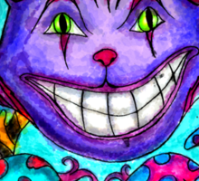 Cheshire Kitty Sticker