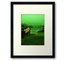 Green day Framed Print