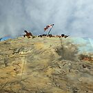 Iwo Jima in Steel by TingyWende