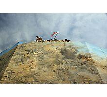 Iwo Jima in Steel Photographic Print