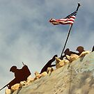 Iwo Jima in Steel II by TingyWende