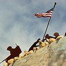 Iwo Jima in Steel II by TingyWende