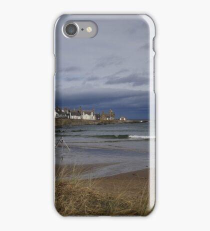 Sandend, Aberdeenshire iPhone Case/Skin