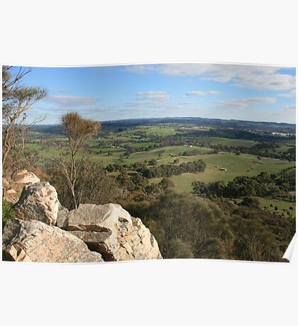 Summit View, Mt. Barker, South Australia. Poster