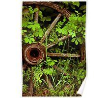 Waggon Wheel Poster