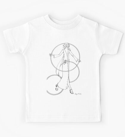 """""""Helga's Fashion Mannequins Series Poster 6 Buttoned Maxi Kids Tee"""