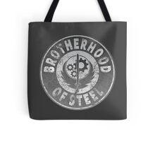 Brotherhood of Steel (Battle Worn Effect) Tote Bag