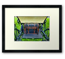 Where Do They Keep the Spare? Framed Print