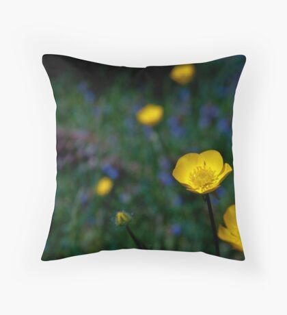 Buttercup Glow Throw Pillow