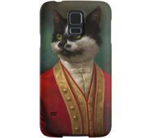 The Hermitage Court Waiter Cat Samsung Galaxy Case/Skin