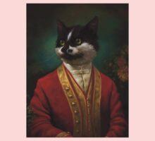 The Hermitage Court Waiter Cat One Piece - Short Sleeve