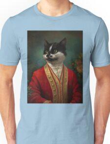 The Hermitage Court Waiter Cat Unisex T-Shirt
