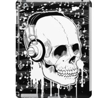 Skull Music design iPad Case/Skin