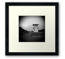 LIFEGUARD Framed Print
