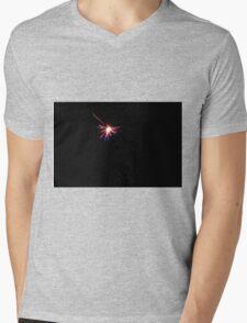 Light in the dark. Mens V-Neck T-Shirt