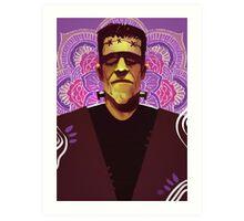 Frankenstein - Mandala Art Print
