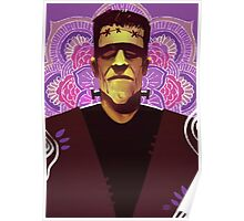 Frankenstein - Mandala Poster