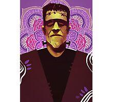 Frankenstein - Mandala Photographic Print