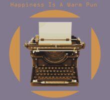 Happiness is a warm pun Kids Tee