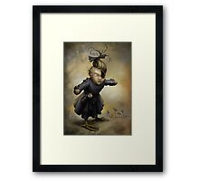 The Political Widow  Framed Print
