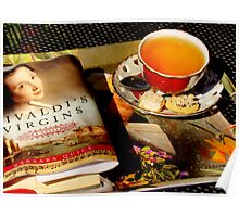 Tea and a Read Poster