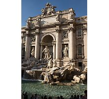 Toss a Coin to Return - Trevi Fountain, Rome, Italy Photographic Print