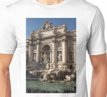 Toss a Coin to Return - Trevi Fountain, Rome, Italy Unisex T-Shirt