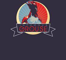 iGrouse Circular crest design for NAVY only Unisex T-Shirt