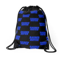 Raider Hater! Bolts Drawstring Bag