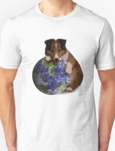 Earth Day Sheltie T-Shirt