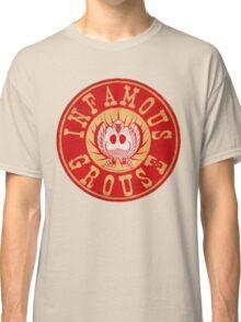 Infamous Grouse RED emblem Classic T-Shirt