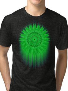 Green Flower! Tri-blend T-Shirt