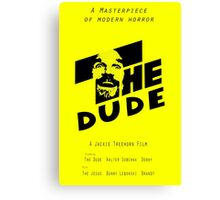 The Dude, Inspired by The Shining Canvas Print