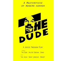 The Dude, Inspired by The Shining Photographic Print