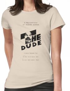 The Dude, Inspired by The Shining Womens Fitted T-Shirt