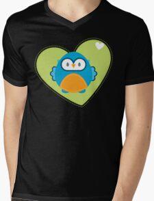OWL SERIES :: heart hoot 3 Mens V-Neck T-Shirt