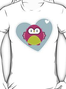 OWL SERIES :: heart hoot 4 T-Shirt