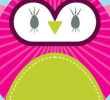 OWL SERIES :: heart hoot 4 Sticker