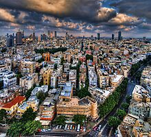 Tel Aviv lookout by Ronsho