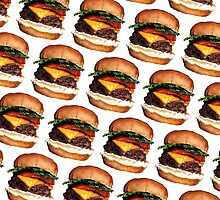 Cheeseburger Pattern by Kelly  Gilleran