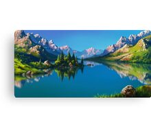 North America Landscape Canvas Print