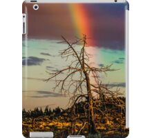 Rainbows-n-old Juniper iPad Case/Skin