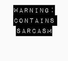 Warning: Contains Sarcasm T-Shirt