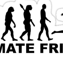 Evolution Ultimate Frisbee Sticker