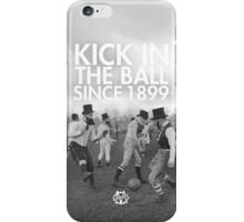 KICK IN THE BALL iPhone Case/Skin