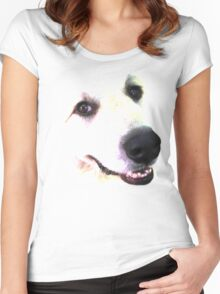 Great Pyrenees Women's Fitted Scoop T-Shirt