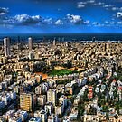 Tel Aviv center by Ronsho