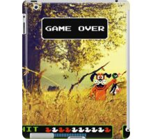 Duck Hunt pixel art iPad Case/Skin